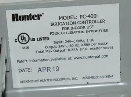 Hunter Pro C PC 400i 4 Station Module Sprinkler Timer Indoor Controller image 7
