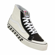 VANS SK8 HI 138 DECON MEN SHOES BLACK/WHITE CHECKER VN0A3MV1R34 SIZE 9.5... - £60.96 GBP