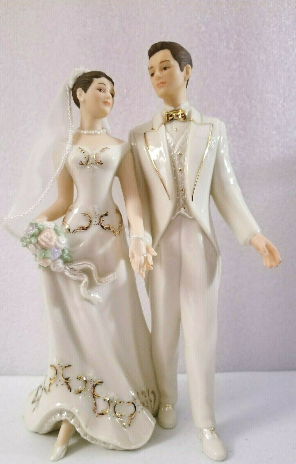 "Primary image for LENOX ~BRIDE & GROOM ""Just Married"" FIGURINE"" NEW"