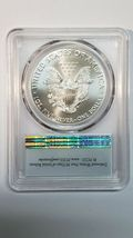 2020 P SILVER EAGLE Dollar $1 EMERGENCY ISSUE PCGS MS70 First Strike Coin C145 image 3