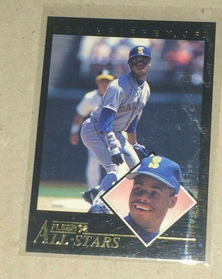 1992 FLEER KEN GRIFFEY JR ALL-STARS INSEERT #23 OF 24
