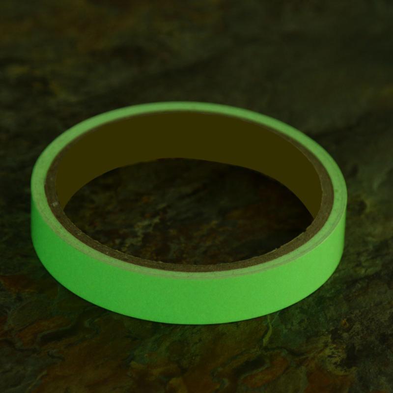 (15mmX3m)10-15mm PET Glow Luminous Warning Tape High Brightness PVC Light Storag