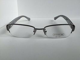 New COACH HC 2750B 8190 Silver Semi-Rimless 52mm Women's Eyeglasses Frame  - $99.99