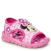 NEW Girls Disney Minnie Mouse Foam Sandals Size 6 7 8 9 10 or 11 - $18.99