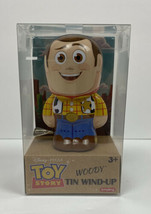 """DISNEY PIXAR TOY STORY """"WOODY"""" TIN WIND-UP ACTION FIGURE 4 INCHES NIB - $17.03"""