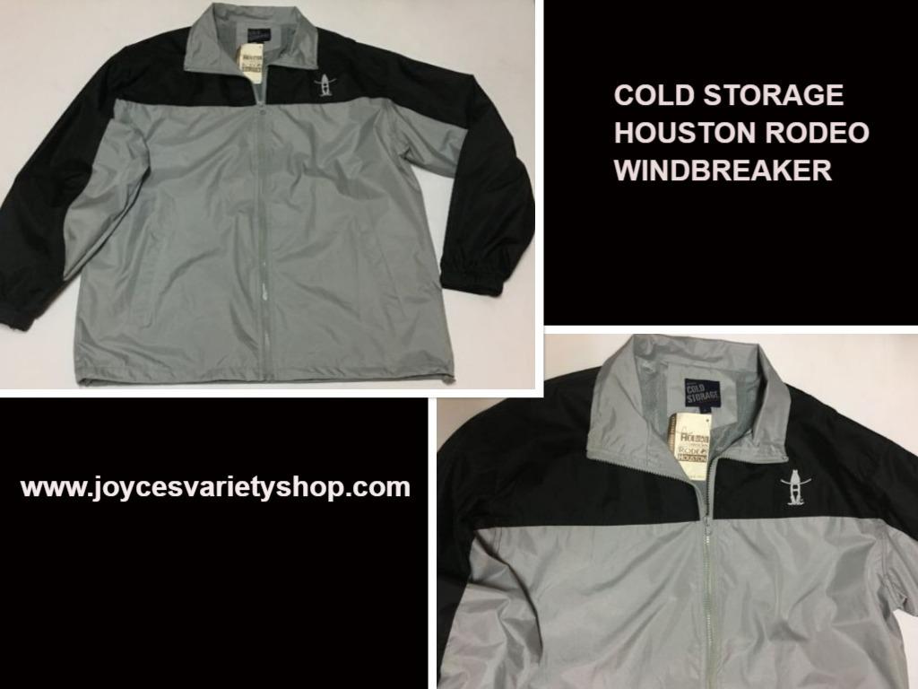 Cold storage houston rodeo jacket web collage