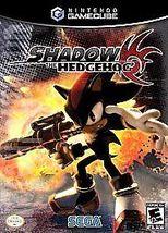 Shadow The Hedgehog Nintendo Gamecube Video Gam... - $16.92