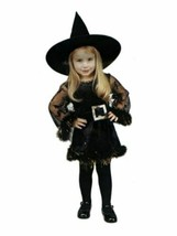 xcg006 Renaissance ADORABLE WITCH Halloween Costume Small 6-8 - $26.13