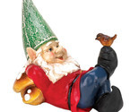 David The Gnome, Yard Gnome Village, Funny Lazy Gnome Solar Statue Figurines