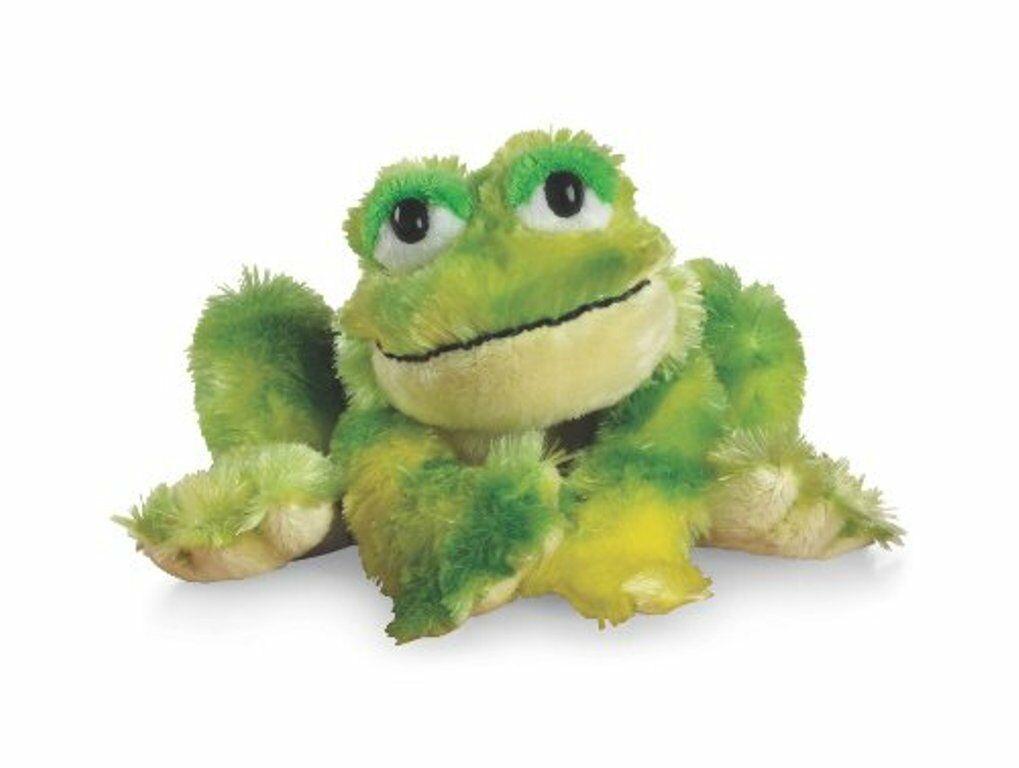 Ganz Webkinz TIE DYE FROG Beanbag Stuffed Animal HM162 Plush Only - No Code