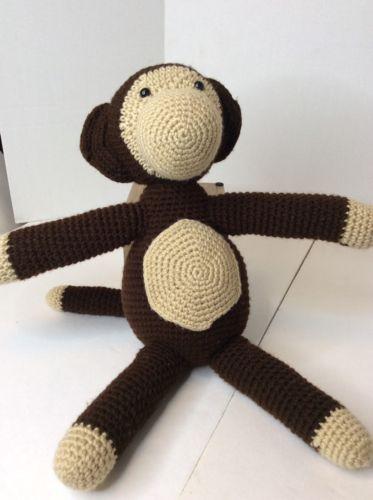 Handmade Brown Black Large 19 Monkey And 50 Similar Items