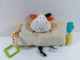 Nat & Jules Jared Giraffe Pillow Lovey Rattle Teether Pillow Plush Baby ... - $9.99