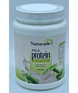 Vegan Pea Protein Vanilla by Naturade 19 oz 15 Servings Exp 6/19 - $15.83