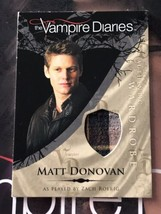 Vampire Diaries Season 1 Wardrobe Card M15 Zach Roerig as Matt Donovan - $12.00