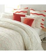New DKNY Urban Sanctuary Full / Queen 3 Piece Comforter Set Ivory - $148.49
