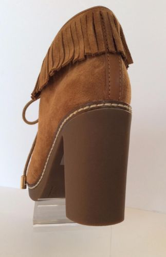 8dd640ccd0d NEW TORY BURCH Hilary 100mm Fringe Booties (Size 5 M) - MSRP  395.00!