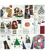 VIP Cranston Print Holiday Christmas Fabric Panels Door Panels Cut And S... - $10.39