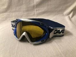 Carrera Kimerik-S SuperGold Snowboard Skiing Goggles Youth Kids Size - $24.74