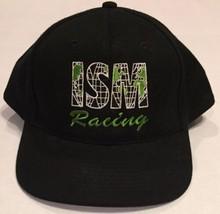 ISM Racing Black Vintage Snapback Hat Cap Baseball NWOT Auto NASCAR KC - $13.09