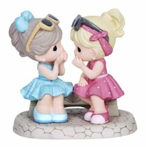 Precious Moments,  That's What Friends Are For, Bisque Porcelain Figurin... - $66.98