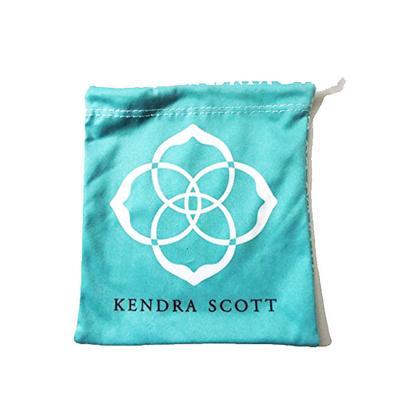 NEW! Kendra Scott Elisa Silver Emerald Green Cat's Eye Necklace & Dust Cover