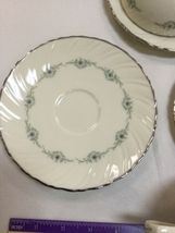 Musette By Lenox Pattern F507 3 Cup and 3 Saucer image 6