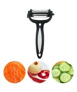 Fruit Peeler 3 in 1 Multifunctional 360 Degree Swivel Vegetable Fruit Pe... - $9.99