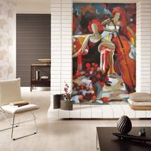 3D Schöne elegante Dame  Fototapeten Wandbild Fototapete BildTapete Familie DE - $52.21+