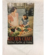 Vintage 1940s Kitchen Craft Natural System of Cooking Aluminum Pans Book... - $5.94