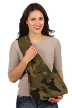 HugaMonkey Camouflage Military Baby Sling Carrier for Infants- LightGree... - $148.49