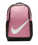 NWT Nike Swoosh Youth Brasilia Magic Flamingo Pink Black Gym Bookbag BA6... - $36.74