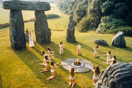 The Wicker Man Ingrid Pitt Naked Pagan Ritual By Stones 1973 18x24 Poster - $23.99