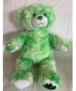 BABW Build A Bear Green Shamrock Foot ST PATRICKS DAY Plush Stuffed Anim... - $11.87