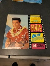 Elvis Blue Hawaii Soundtrack Record Album Vinyl LSP 2426 1961 - $7.92
