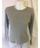 Beverly Hills Polo Club Women gray Long Sleeve Large Made In Pakistan Bi... - $14.00