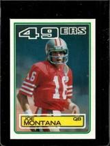 1983 TOPPS #169 JOE MONTANA EXMT+ 49ERS DP HOF  *X01086 - $9.90