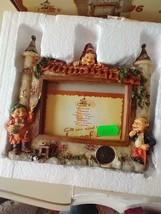"""NEW 6""""LAAF EFTELING NEDERLAND ELF GNOME CASTLE PHOTO FRAME COLLECTIBLES#... - $66.82"""