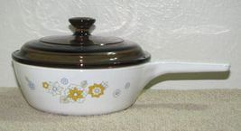 Corning Ware Floral Bouquet 1 Pint Sauce Pan with Lid  - $10.99