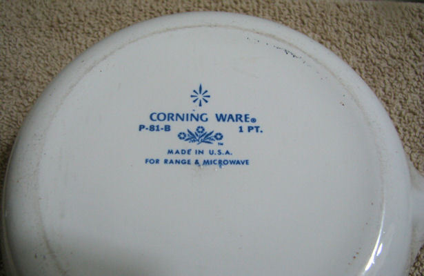 Corning Ware Floral Bouquet 1 Pint Sauce Pan with Lid