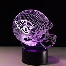 Jacksonville Jaguars Football NFL 3D Light LED Helmet 7 Color Changing Desk Lamp - $30.99