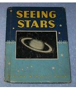Rand McNally Book Seeing Stars 1942 Constellations Planets Moons - $7.95