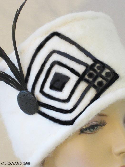 Art For Your Head by DreamWoven - Handmade Art Hat