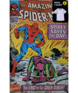 Spider Man Marvel Comics Lg T-Shirt In Collectible Metal Box NIB New Unopened - £30.22 GBP