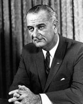 President Lyndon B. Johnson Democratic 16X20 Canvas Giclee - $69.99