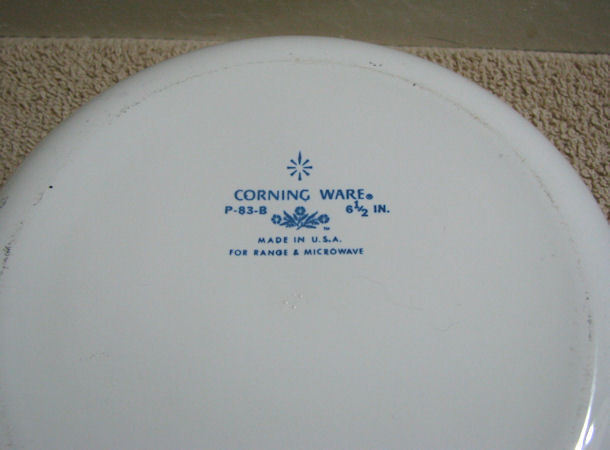 Corning Ware Floral Bouquet 6.5 inch Skillet Pan w Lid