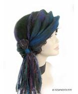 """Azure"" - Art for Your Head by DreamWoven - Handmade Art Hat - $290.00"
