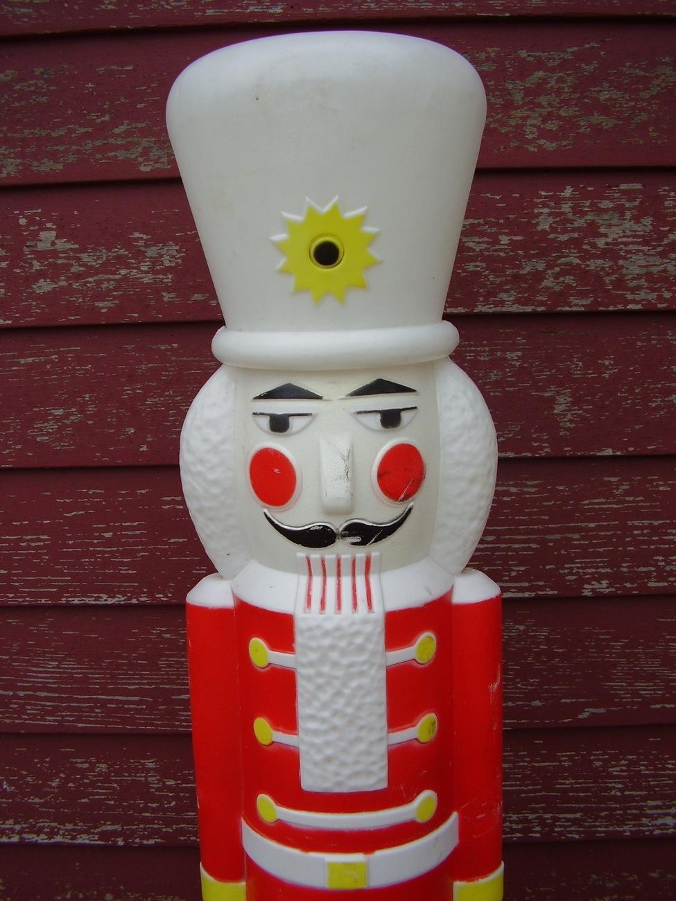"Amazon.com : 65"" Tall 3D Lighted Nutcracker Toy Soldier ...   Lighted Nutcracker Soldier"