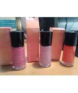 Mary Kay Nail Lacquer Violet Silk, Vivid Sunburst, Pink Escape,Brilliant... - $6.49