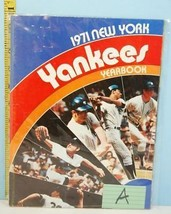 1971 New York Yankees Baseball Major League Yearbook #A - $13.95