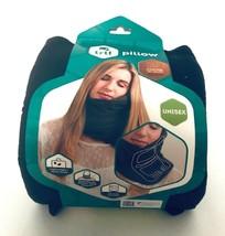 Trtl Travel Pillow Super Soft Neck Support Unisex Black Machine Washable... - $12.86